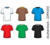 ringer t shirt | Shutterstock .eps vector #2394103
