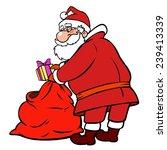 santa | Shutterstock . vector #239413339