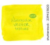 abstract watercolor vector... | Shutterstock .eps vector #239415820