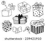 gift boxes | Shutterstock .eps vector #239421910