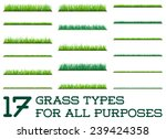 17 backgrounds of green grass ...