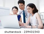 young business people | Shutterstock . vector #239431543