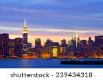 new york city  usa. downtown... | Shutterstock . vector #239434318