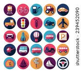 flat concept  design with... | Shutterstock .eps vector #239452090