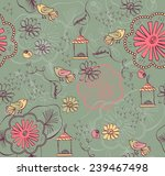 vector seamless pattern with... | Shutterstock .eps vector #239467498