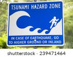 tsunami and earthquake hazard... | Shutterstock . vector #239471464