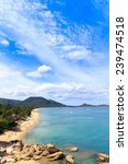 blue sea and blue sky | Shutterstock . vector #239474518