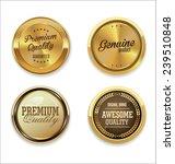 golden labels collection | Shutterstock .eps vector #239510848