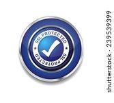 ssl protected blue vector icon...   Shutterstock .eps vector #239539399