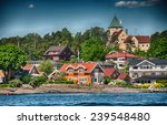oslo  norway. beautiful city... | Shutterstock . vector #239548480