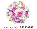 rose pastel bunch | Shutterstock . vector #239556739