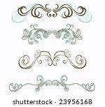 set of design elements | Shutterstock .eps vector #23956168