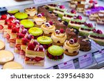 Pastry Shop With Variety Of...