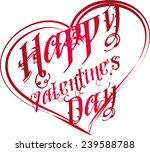 happy valentines day vector art   Shutterstock .eps vector #239588788