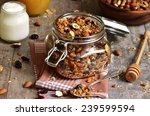 granola from several types of...   Shutterstock . vector #239599594