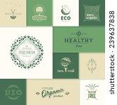 set of vector labels and design ... | Shutterstock .eps vector #239637838