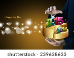 successful business bar and pie ...   Shutterstock . vector #239638633