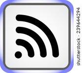 wireless sign icon  vector... | Shutterstock .eps vector #239644294