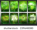 set of templates brochure.... | Shutterstock .eps vector #239648380