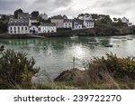Old Fisherman Houses Coastline...