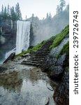 Vernal Falls At Yosemite...