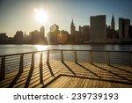 new york city skyline. view... | Shutterstock . vector #239739193