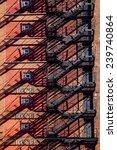 new york city apartments   Shutterstock . vector #239740864