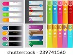 colorful modern text box... | Shutterstock .eps vector #239741560