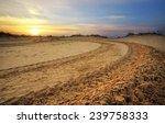 Motocross And Auto Sport Track...