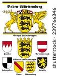 coat of arms of baden... | Shutterstock .eps vector #239766346