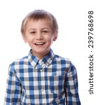 boy laughs  8 years old ... | Shutterstock . vector #239768698