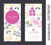 vector abstract pink  yellow... | Shutterstock .eps vector #239786569