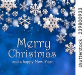 christmas background   Shutterstock . vector #239800933