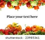 different fresh tasty... | Shutterstock . vector #23985361