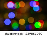 beauty color blurred new year... | Shutterstock . vector #239861080