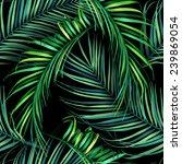 seamless tropical flower  plant ... | Shutterstock . vector #239869054