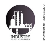 industry design over white... | Shutterstock .eps vector #239886370