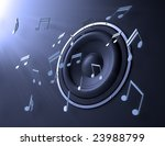 music abstract | Shutterstock . vector #23988799