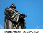martin luther monument in front ...   Shutterstock . vector #239892460