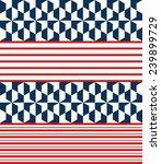seamless ethnic geometric... | Shutterstock .eps vector #239899729