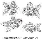 set of the different linear... | Shutterstock .eps vector #239900464