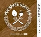 food design over wooden... | Shutterstock .eps vector #239900650