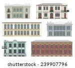 Set Of Historical Building...