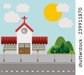 landscape design  vector... | Shutterstock .eps vector #239911870
