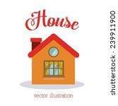 house design  vector... | Shutterstock .eps vector #239911900