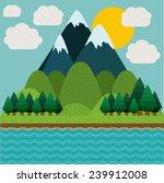 landscape design  vector... | Shutterstock .eps vector #239912008