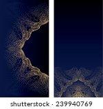 ornate blue textures | Shutterstock .eps vector #239940769