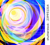 vector abstract background with ... | Shutterstock .eps vector #239951314