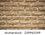 the red brick wall beautiful... | Shutterstock . vector #239965249