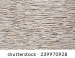 Pattern Of Decorative Stone...